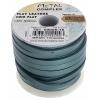 Flat Leather 5X2mm (10m Spool) Metallic Turquoise